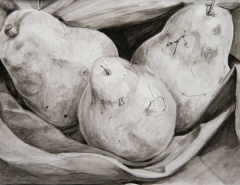 Drawing titled Pears